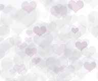 Abstract colorful heart background Royalty Free Stock Photography