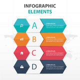 Abstract colorful hexagon and label business Infographics elements, presentation template flat design vector illustration. For web design marketing advertising royalty free illustration