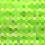 Abstract colorful hexagons background Royalty Free Stock Images