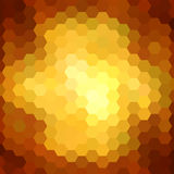 Abstract colorful hexagons background Stock Photo