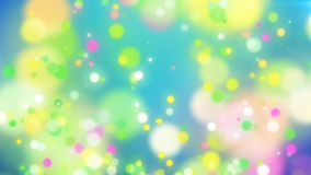 Abstract Colorful Holiday particles background. Blurred abstract backdrop with spots. 3d illustration Stock Photography