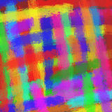 Abstract colorful illustration. With chalk in spectrum colors Royalty Free Stock Photography