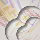 Abstract colorful illustration. Royalty Free Stock Photo