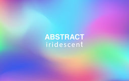 Abstract colorful iridescent background rectangular composition. Abstract iridescent background rectangular composition Royalty Free Stock Photography