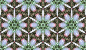 Abstract colorful kaleidoscope seamless pattern. Geometric floral vector background. Mosaic azulejo mandala graphic swatch. Abstract colorful kaleidoscope stock illustration