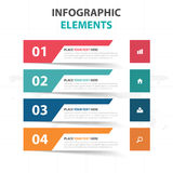 Abstract colorful label business Infographics elements, presentation template flat design vector illustration for web design. Marketing advertising stock illustration
