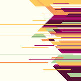 Abstract colorful layout. Royalty Free Stock Images