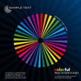 Abstract colorful layout. Vector. Abstract vector illustration depicting colorful layout background Stock Photo