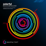 Abstract colorful layout. Vector. Abstract vector illustration depicting colorful layout background Royalty Free Stock Images