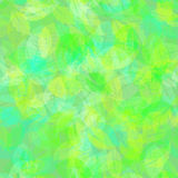 Abstract colorful Leaves. Nature Background Royalty Free Stock Photos