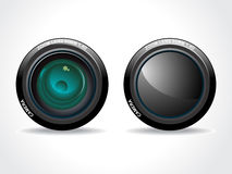 Abstract colorful lens Stock Photos