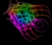 Abstract colorful light background Stock Image