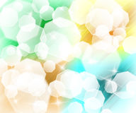 Abstract colorful light background Stock Photos
