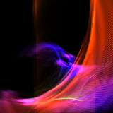Abstract colorful light background Stock Photo
