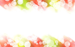 Abstract colorful light border Stock Image