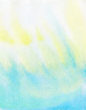 Abstract colorful  light color watercolor background Royalty Free Stock Photo