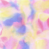 Abstract colorful light painted watercolor stain Royalty Free Stock Image