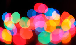 Abstract colorful lights Stock Photo