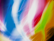 Abstract colorful lights background Stock Photos