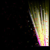 Abstract Colorful Lights Background Stock Photo