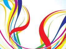 Abstract colorful line background Royalty Free Stock Photo