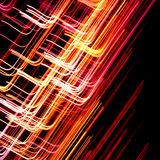 Abstract colorful lines Royalty Free Stock Photo