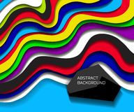 Abstract colorful lines background Royalty Free Stock Photo
