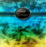 Abstract colorful lines background Royalty Free Stock Photography
