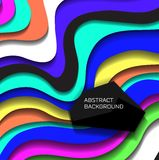 Abstract colorful lines background Royalty Free Stock Images