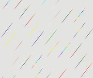 Abstract colorful lines on gradient background Stock Photos
