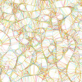 Abstract Colorful lines on neutral. EPS 8 Stock Images