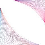 Abstract colorful lines on white. Vector illustration of Colorful lines abstract background Stock Photography