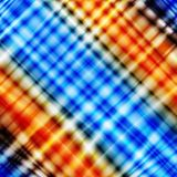 Blue and orange textured design. Abstract background stock photography