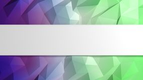 Abstract colorful low poly background Stock Images