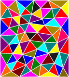 Abstract colorful low poly background Stock Photo