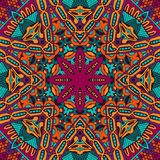Abstract colorful mandala vector ethnic pattern. Abstract Tribal vintage ethnic seamless pattern ornamental Stock Photography