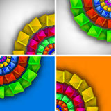 Abstract colorful modern design Royalty Free Stock Photo