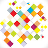 Abstract colorful modern geometric template, illustration Stock Photo