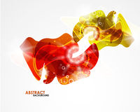 Abstract colorful modern smooth shape Stock Photography