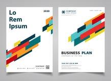 Abstract colorful modern stripe lines design brochure design background. illustration vector eps10 stock illustration