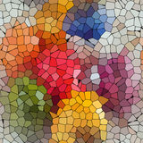 Abstract colorful mosaic Royalty Free Stock Photography