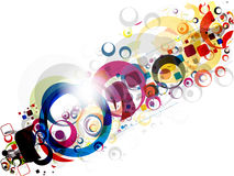 Abstract colorful mosaic background Stock Images