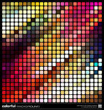 Abstract colorful mosaic background Royalty Free Stock Photography