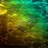 Abstract colorful Mosaic background. EPS 8 Stock Photography
