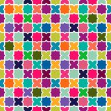 Abstract colorful mosaic pattern background Stock Image
