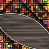 Abstract Colorful Mosaic Pattern Design. Royalty Free Stock Photos