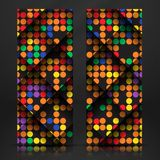Abstract Colorful Mosaic Pattern Design. Royalty Free Stock Image