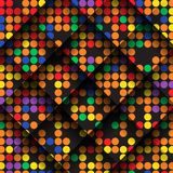 Abstract Colorful Mosaic Pattern Design. Stock Images