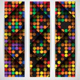 Abstract Colorful Mosaic Pattern Design. Royalty Free Stock Images