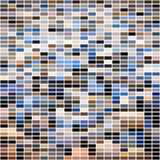 Abstract colorful mosaic seamless pattern. Royalty Free Stock Images